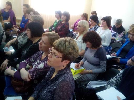 участники городского семинара - учителя-логопеды логопунктов ДОО